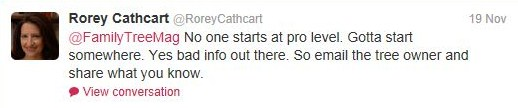 Rorey Cathcart's Twitter Feed
